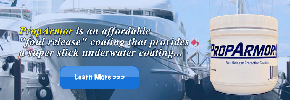 PropArmor - All Natural Boat & Yacht Propeller Protection